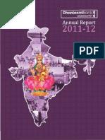 Dhanlaxmi Anual Report 2011 2012