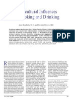 Sociocultural Influences on Smoking and Drinking