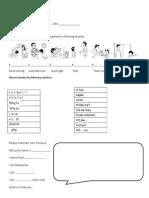 Chinese Worksheet Suppli