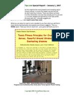 Tennis Fitness Tips Report - Todd Scott