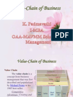 PADMA Value Chain of Business