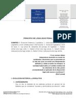 Principio de Legalidad - Torres Caro