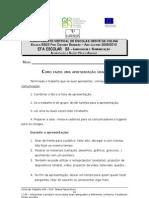 Ficha de trabalho nº6- comunicação oral
