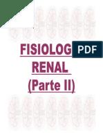 Fisiologia Renal II e III 2010