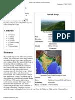 Aravalli Range
