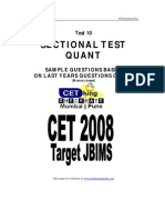 Quant Sectional Test 10