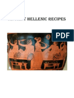 Ancient Hellenic Recipes