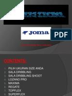 Catalogue Joma :)