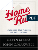 Home Run, by Kevin Myers & John C. Maxwell - Chapters 1 & 2