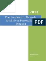Plan terapéutico para trabajar con una persona con abuso al alcohol