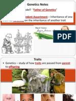 genetics powerpoint week of january 6