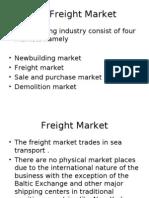 Freight Markets