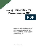 Using HomeSite+ (English)