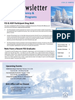 Bloomington Housing Authority Family Self Sufficiency Newsletter 2014 Q1 Winter