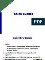 7 Sales Budget Final