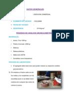 Pruebas de Analisis Granulometrico