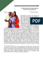 En Venezuela no nos gusta que nos llamen afro descendientes y ello lo demostró el Censo de Habita y Vivienda del 2.011
