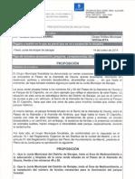 Proposición adecuación y farolas P Alameda