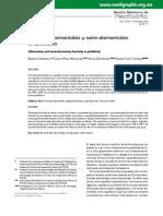 Fórmulas elementales y semi elementales en pediatría