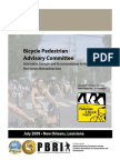 Bicycle Pedestrian Advisory Committee Information, Examples and Recommendations for the New Orleans Metropolitan Area