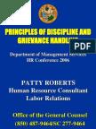 P.roberts - Grievances