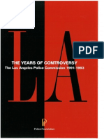 Novak, C. A. - The Years of Controversy- The LA Police Commission 1991-1993