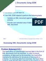 Non validating dom parser