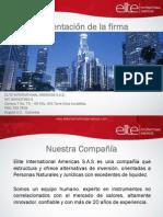 -Reportes-Presentación ELITE julio 2013
