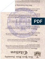 Assemblyman Thiele Shen Yun Citation