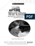 Revisiting the Writing Workshop