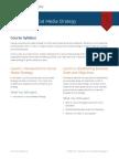 SCMD 150 Syllabus Social Media Strategy