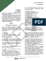 Aulas 01 a 05 - Direito Constitucional