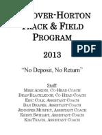 2013 team handbook