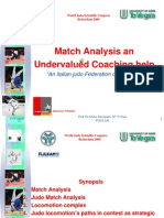 Match Analysis an Undervalued Coaching Help
