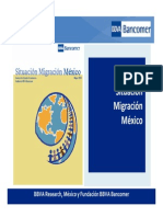 Situacion Migracion Mexico 2010 BBVA