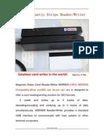 MSR900 Magnetic Card Reader Writer