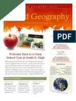 Quarter One Newsletter