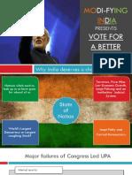 E-Book on Why India Needs Modi-Fication ?