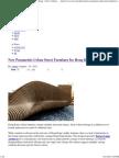 Parametric Urban Street Furniture-Bench