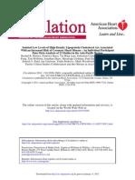Articulo HDL Bajo Cir 2011