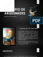 Principio de Arquimedes 2013