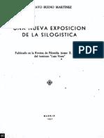 Gustavo Bueno Silogistica