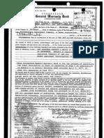 Corrected General Warranty Deed