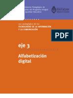 Eje 3 -Alfabetización digital