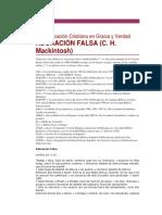 ADORACIÓN FALSA