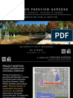 A Vision for Parkview Gardens - Plan Commission Final Public Meeting