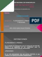 Clases Planeamiento Urbano-2009