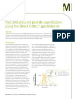 Direct Detect Peptide Quantitation