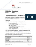 Global IP Office Technical Bulletin Number 157
