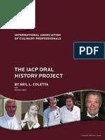 IACP Oral History :